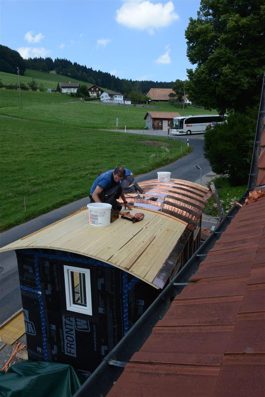 Gut bekannt blechdach im aufbau – Little House on the Prairie EU68